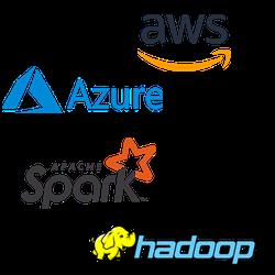 Data engineering technologies: AWS, Azure, Spark