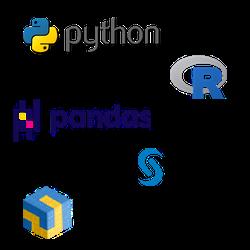 Data engineering tools: Python, R Pandas
