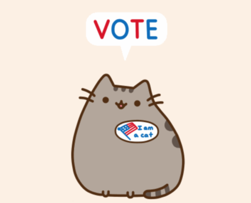 """A cat says """"vote"""" - data science and elections"""